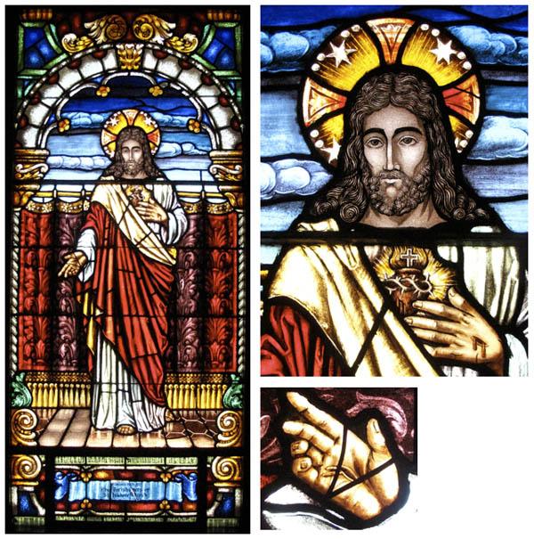 Window Jesus Resurrected