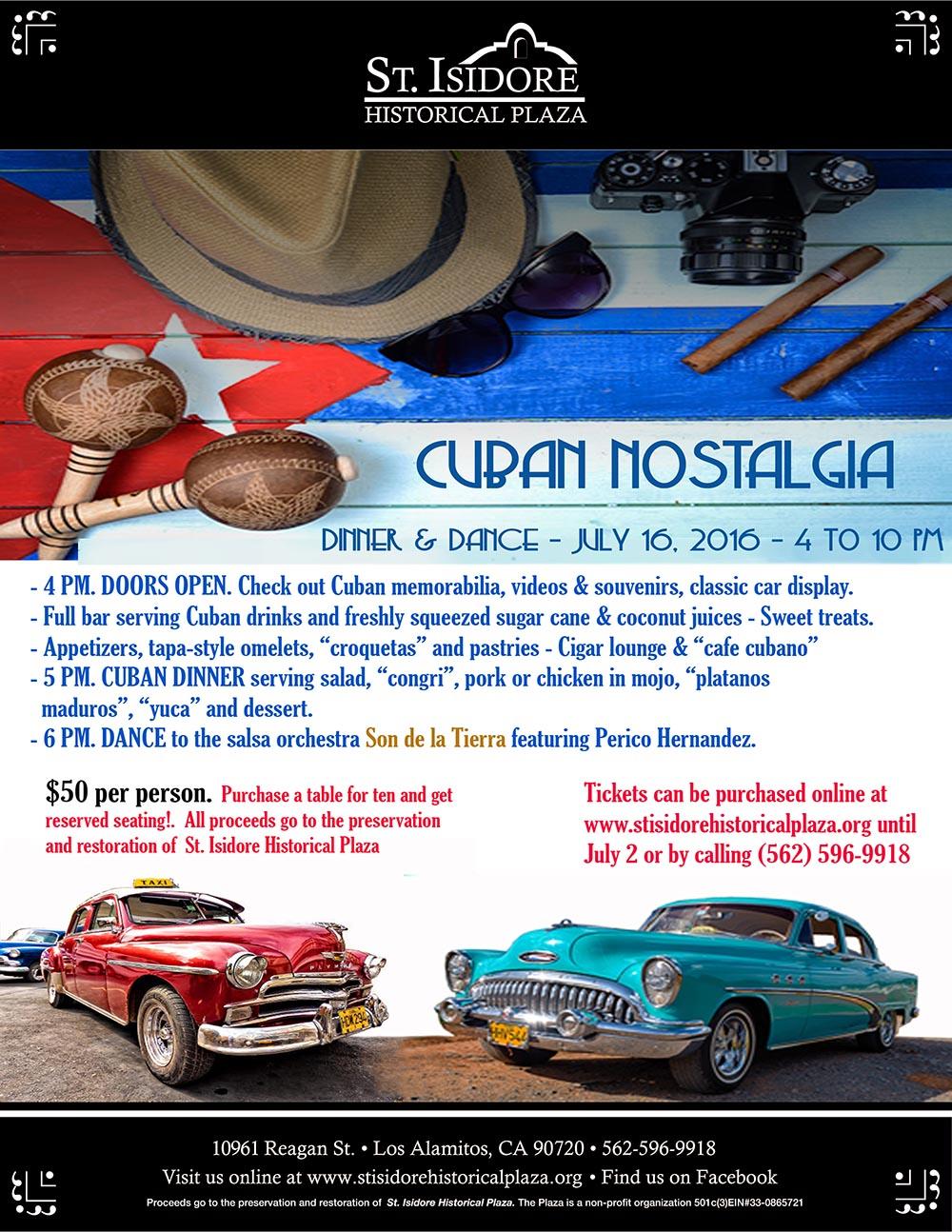 Cuban Nostalgia Night